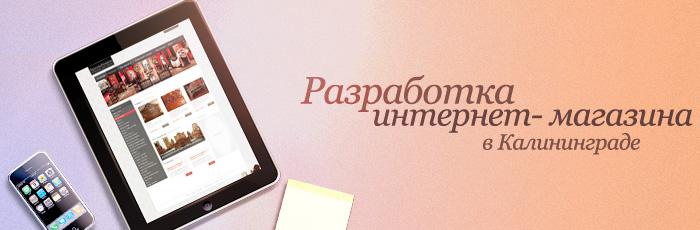 Создание интернет магазина в Калининграде