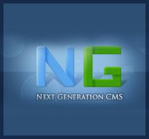 Редизайн админ панели Next Generation CMS